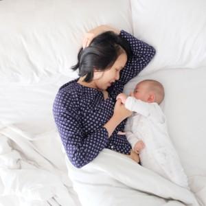 双子の夜間授乳、母乳の場合【体験談】