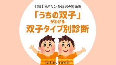 双子 関係性 双子タイプ 診断 心理テスト